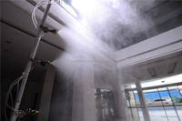 2.5L Battery water mist fan spraying machine for Layer Cages