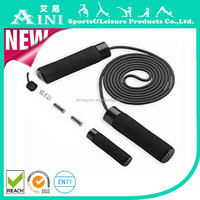 Load/speed jump rope students adult exercise fitness professional children's cotton core wire rope skipping