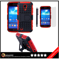 Keno For Samsung Galaxy S4 Mini I9190 TPU + PC Hybrid Back Matte Cover Case