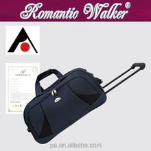 Manufacturer OEM/ODM lightweight 2 wheels cheap customized luggage bag