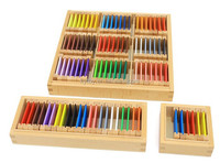 montessori color tablets educational toy