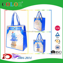 Customized Eco pp non woven/rpet bag/pp woven shopping bag