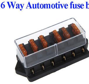 HTB19auLHXXXXXXHaXXXq6xXFXXXP 6 way fuse box bus bar with led fuse failure warning 12v buy