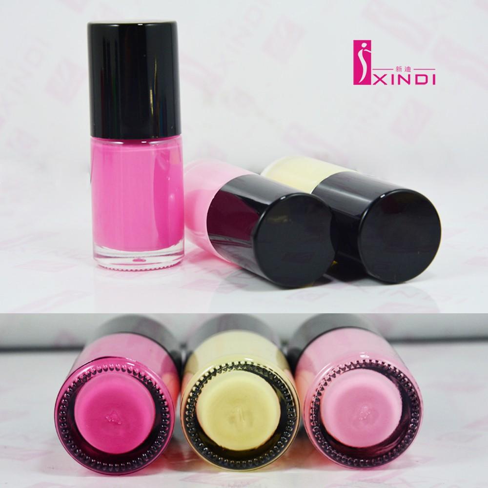Neon Pink Neon Light Pink Neon Milky Yellow Nail Polish