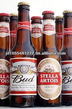 Quality Stella Artois bottles and cans