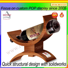 Hot Sales Antique Vintage Counter Top Wooden Wine Rack