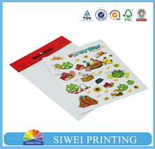 Lovely cheap phone back sticker, phone wallet sticker from facory supplier