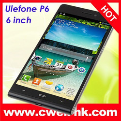 "Original UleFone P6 6.0"" Capacitive IPS Touch Screen 1280x720 Android 4.2 Phone 3G Dual SIM Card Double Cameras"