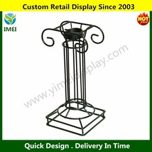 POP Customize Iron Globe Pedestal / Ball Metal Rack / Basketball Display Rack