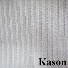 wholesale striped design jacquard color dyed upholstery fabric for table cloth chair cover