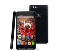 """100% original 5"""" thl 4400 4gb rom +1gb ram 1280*720pixels support wifi gps android4.4 dual sim card cell phone"""