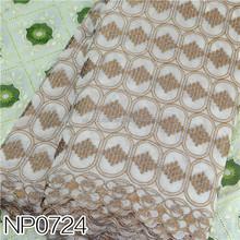 Wholesale african lace fabrics cheap evening dress fabrics NP0724
