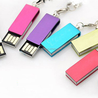 Super mini bulk cheap plastic case usb flash drive 2gb 4gb 8gb