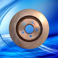 brake system and drilled brake disc. simple brake system