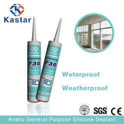 Assessed Supplier 300ml acetic silicone sealant in high quality