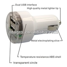 Tdagro simple fashion style travel and car charger