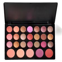 Wholesale Professional 26 Color EyeShadow Blush Palette Branded Makeup Cosmetics V1037