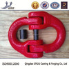 chain accessories red color powder coated alloy connecting link