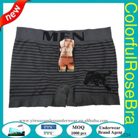 hot selling quick dry mens tunnel sexy nylon spandex elastane thin function brief boxer underwear