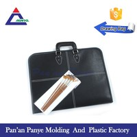 Custom woman portfolio light flxtures replacemen parts leather bag