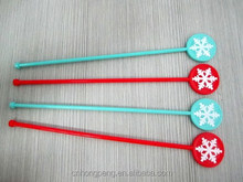 Novelty plastic stick/swizzle stick/ cocktail stick stirrer