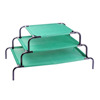 Wholesale High Quality Green Color Pet Bed S M L Wire Dog Bed