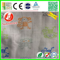 Hot Sales breathable baby blanket fabric, baby swaddle