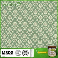 Natural green fire retardant, soft colors heat absorbing paint