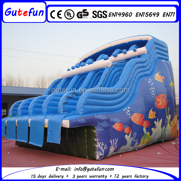 Supply adultes enfants utilis natation toboggan de la for Toboggan gonflable piscine