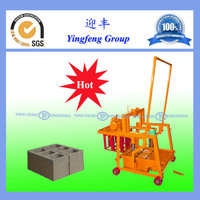 Semi Automatic Machine For Making Concrete Blocks QMJ2-45 cement block making machine