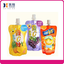 Gravure soft plastic printed laminated packing materials fruit shape packaging pouch