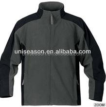 Mens plain casaco de lã jaqueta fantasia com personalizado