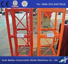 building construction elevator spare parts/material hoist