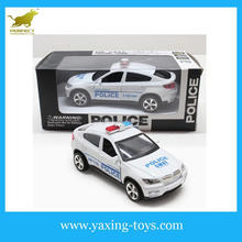 High quality for 1:32 Pull back police and fire car toys for kids,alloy model car with opened door YX001194
