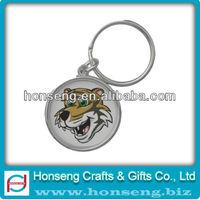 Excellent Quality no minimum custom logo metal keychain