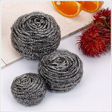 Galvanized scrubber cleaning mesh scrubber/cleaning ball used kitchen appliances