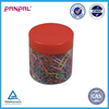 BSCI Approved office&home usage multi-color plastic coated paper clip with good quality