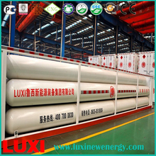 LUXI CNG 10 tube skid container,ISO11120 Cylinders,