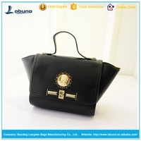 Fashion trend PU china shoulder bag China alibaba wholesale ladies hand bag