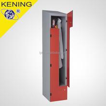 Two Door Z shape Metal Narrow Locker