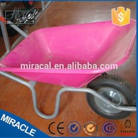 high quality electric wheelbarrow garden tractor seat cart wb6404