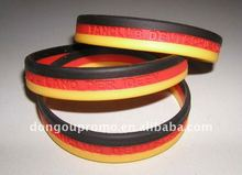 2015 Newest Promotional Silicone Rubber College Team Bracelets