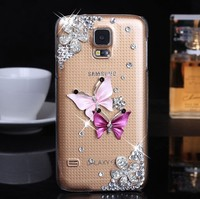 Luxury Bling Diamond Bling Phone Case Cover For HTC and Samsung Galaxy S5