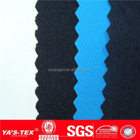 New product wholesale 4 way stretch spandex check fabric for school uniforms