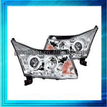 Exterior Accessories High quality for land rove-r freelander 2 ABS chrome Car headlight/head light/lamp/headlamp cover