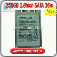 New----- for toshiba 250GB 5400rpm 1.8'' SATA laptop Harddisk MK2533GSG