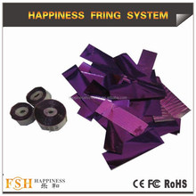 Foil confetti papers with Good quality and colorful papers for weddings, with CE passed,confetti foil papers, China manufacturer
