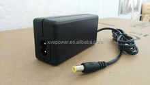 universal 12v 3a power adapter with UL/CUL GS CE SAA FCC approved (3 years warranty)