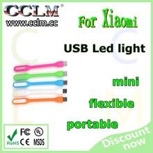 Bendable Portable USB LED MI Mini Slim Lamp Table Light For PC Laptop Power Bank
