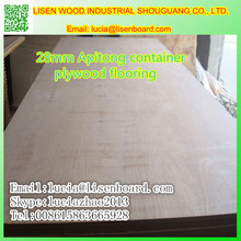 28mm Container plywood , container marine plywood 1160x2400x24mm belveled edge